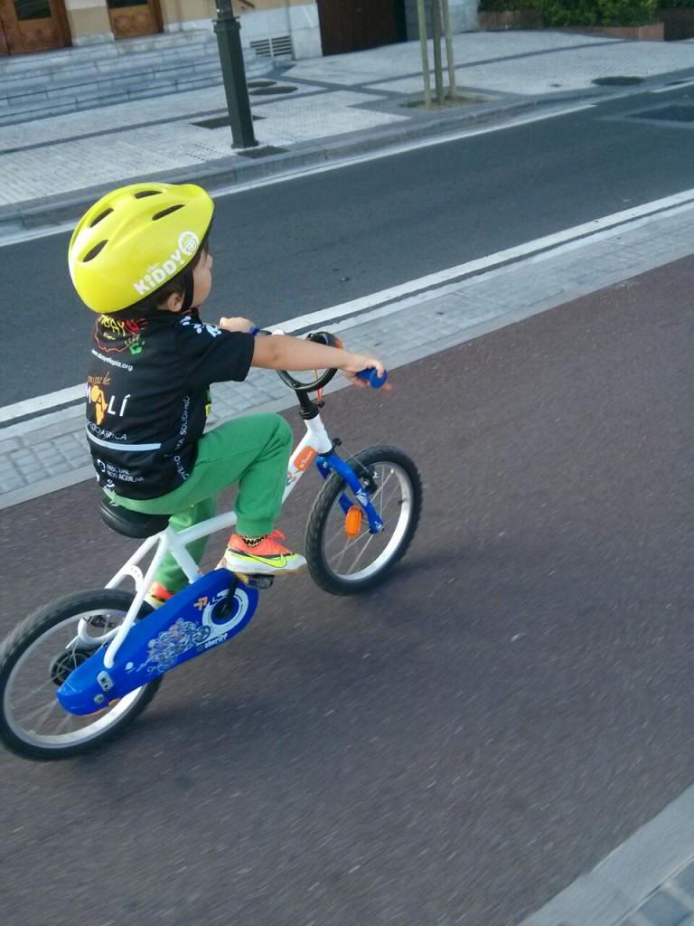 proyecto ciclista solidario