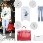 Jessica Alba: get the look con estas sneakers slip on