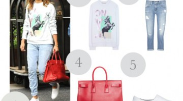Jessica Alba: get the look con estas sneakers slip on