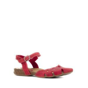 sandalias interbios roja