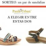 Sorteo Sandalias Paula Urban