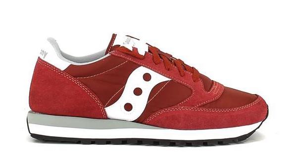 zapatillas saucony modelo jazzoriginal rojos para hombre Obi