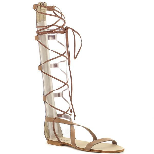 Sandalias romanas altas