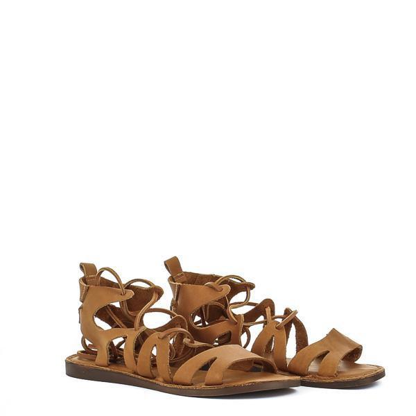 sandalias romanas bajas