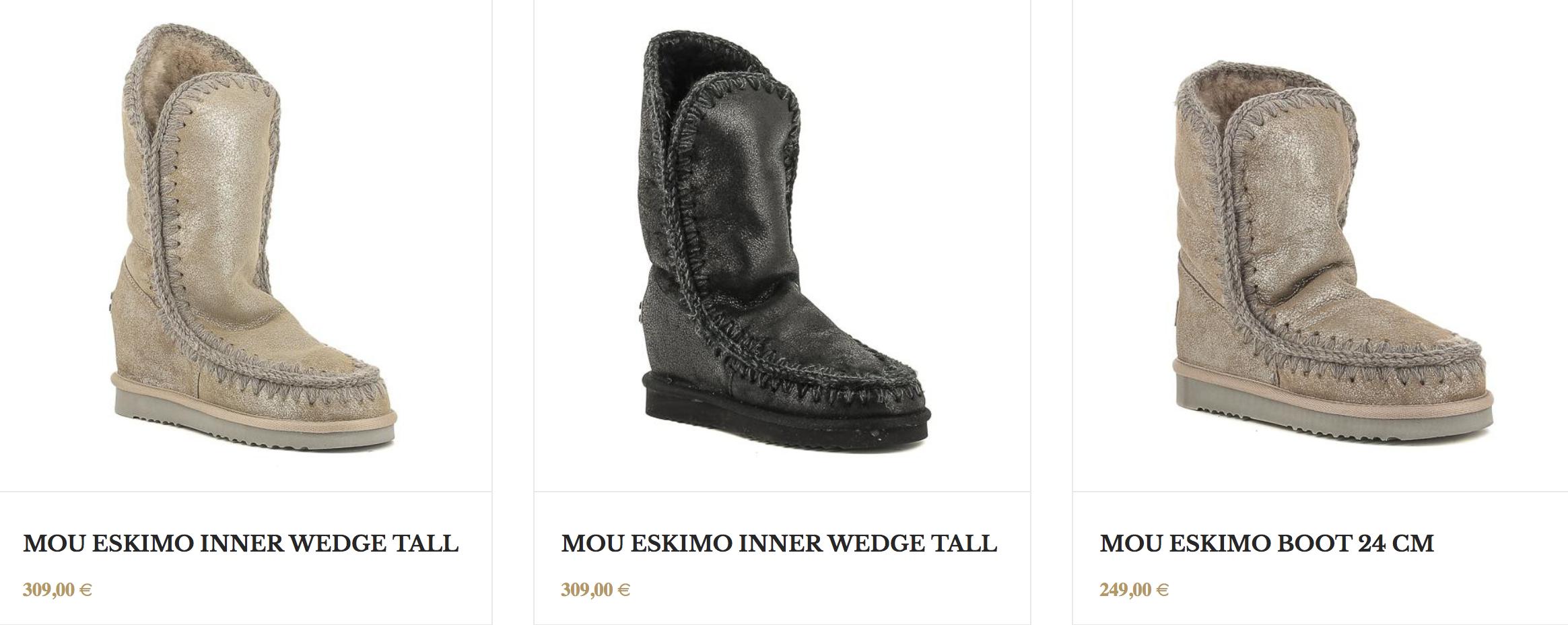botas mou eskimo inner wedge tall