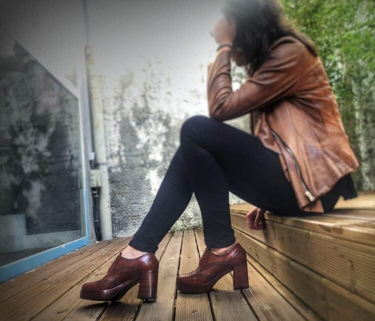 Zapatos con tacón pons quintana