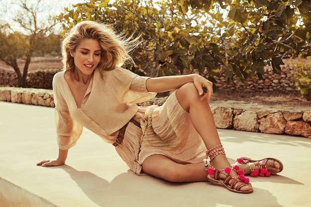 gioseppo sandalias de pompones