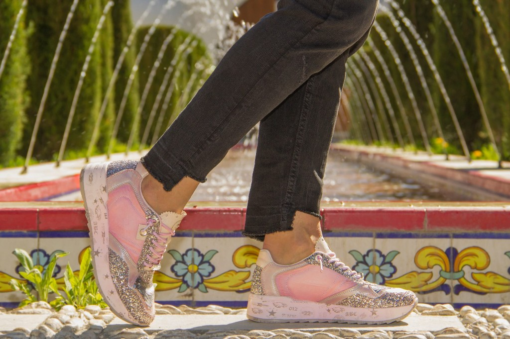 zapatillas cetti rosas